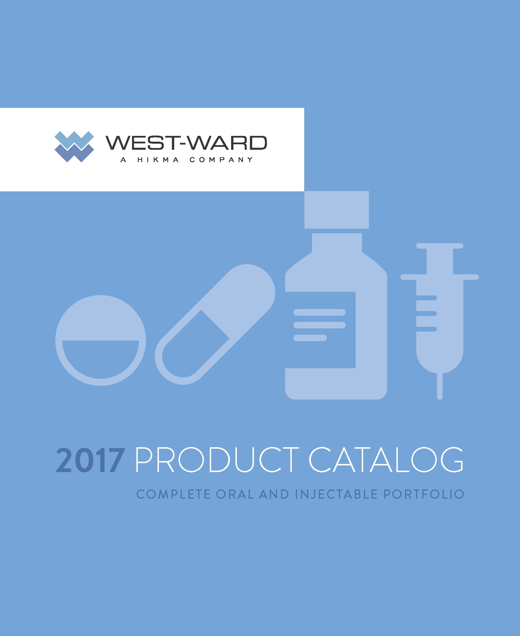 West-Ward 2017 Catalog